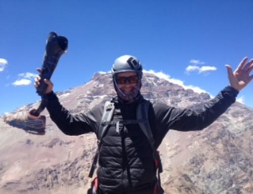 Jeff Glasbrenner summits Mt. Aconcagua